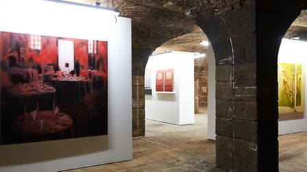 Exhibition by Bow Arts earlier this month at its Rum Factory gallery in Wapping's London Dock