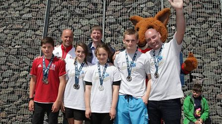 Tower Hamlets won silver at the London Youth Games kayak slalom competition at the London Regatta Ce
