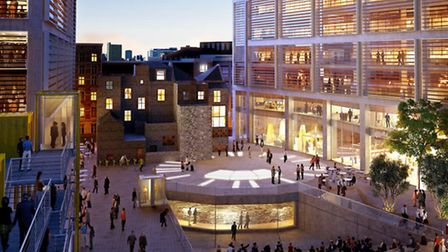 Development of Bard family's site in Shoreditch where Shakepeare's Curtain Theatre once stood