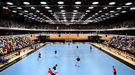 A International futsal tournament at The Copper Box earlier this year (pic: Jordan Mansfield/Getty I