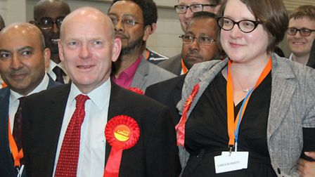 The night John Biggs became Mayor of Tower Hamlets... with his new Deputy Mayor for Education Rachae