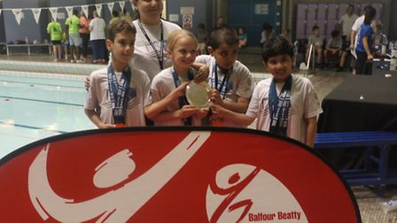 Winning Tower Hamlets team at London Youth Games