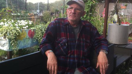 Fed up... Britain's 'Greenest Tenant' Tom Gleed's community garden raided by thieves yet again