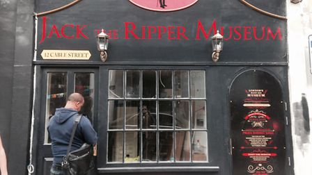 Jack the Ripper 'museum' at 12 Cable Street
