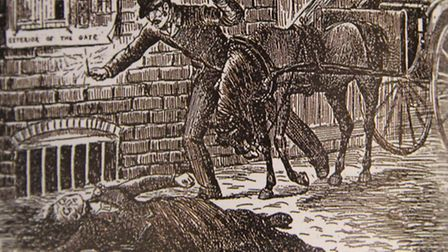 Nearest Ripper murder to Cable Street was Lizzie Stride whose mutilated body was found in a yard in