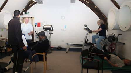 GV of Ability Bow gym for therapy