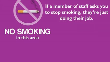 Even in the open... hospital car-park smoking ban