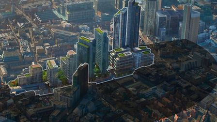 Shadow of 'Berlin Wall of skyscrapers' at Bishopsgate would be cast across Shoreditch, claim
