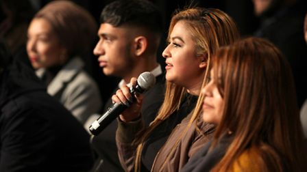 Young People's Question Time at Poplar's Spotlight centre [photos: Rehan Jamil]