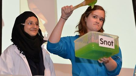 Summer Science Festival at Queen Mary's University pulls no punches with substances for analysiseve
