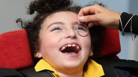 Getting first-ever eye test... hundreds of children in east London miss out, says SeeAbility charity