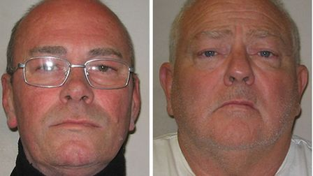Carl Wood, left, and William Lincoln who have been convicted of involvement in the Hatton Garden rai