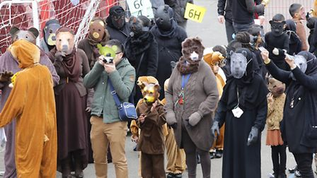Old Palace primary school's record Bear gathering