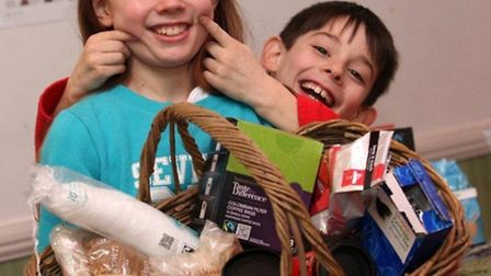 You have to smile... even children in the East End are getting into Fair Trade shopping