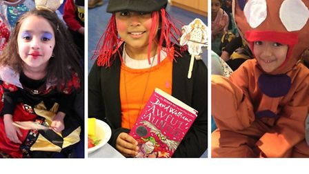 Pupils at Cyril Jackson Primary dressed as their favourite fiction characters for World Book Day