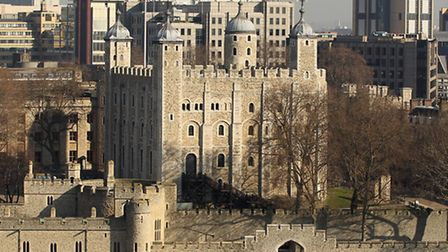 The attacker was caught at the Tower of London where he tried to jump into a moat (Photo: Richard He