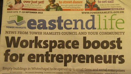 Government still waiting for East End Life to be scrapped