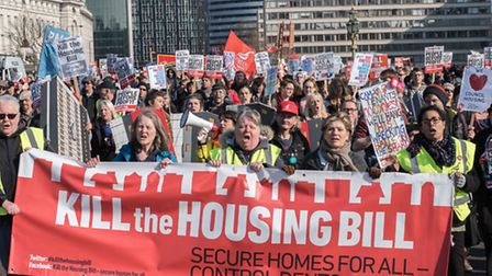 'Kill the Bill' campaigners now plan 'sleep out' protest in east London [photo: Debbie Humphry]