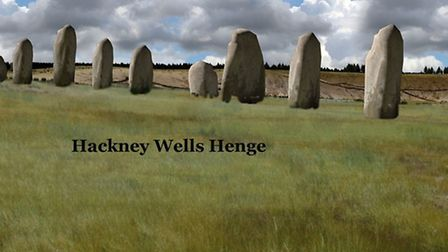 What the Wells Henge must have looked like in 3,000 BC