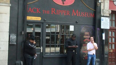 Controversial Ripper Museum in Cable Street