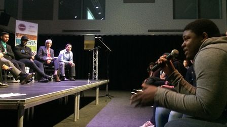 Audience put the mayor on the spot over youth service cuts