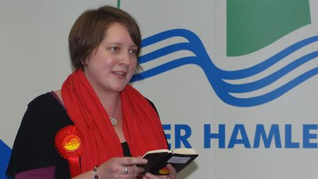 Cllr Rachael Saunders at 2015 Mayor election