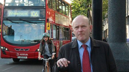 Mayor John Biggs... funding green spaces and more GP surgeries in London's East End
