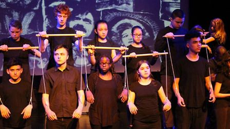 Launch of 'Stages of Half Moon' archive by the theatre's Youth group