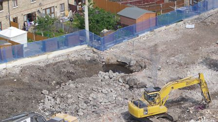 The 'stink' hole just yards from houses next to former Phoenix smelting works site