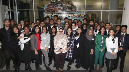 The Young Mayor candidates. Picture: Rehan Jamil