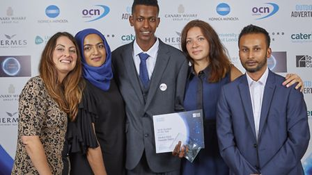 Tower Hamlets College annual awards night.