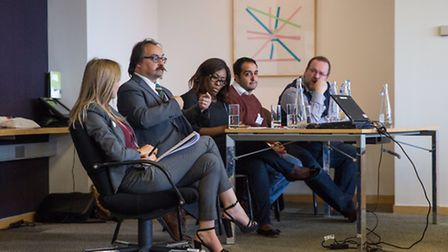 Experts discuss workplace issues at the LGBT leaders conference