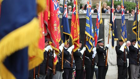 Trinity Square on this year's Merchant Navy Day, September 3, 2016