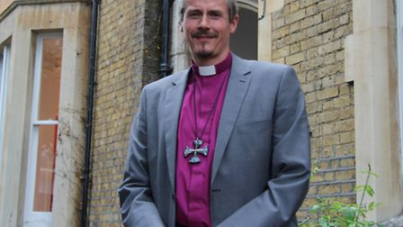 Bishop of Stepney at his manse in Bow