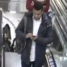Police have released a CCTV image of a man they wish to trace in connection with a sexual assault in