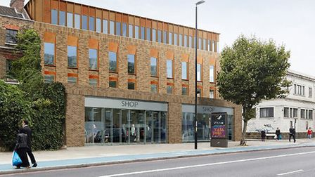 Proposed Travelodge in the Mile End Road