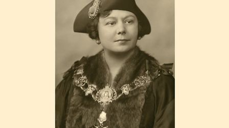 Dorothea Benoly in 1933 appointed first woman Mayor of Bethnal Green
