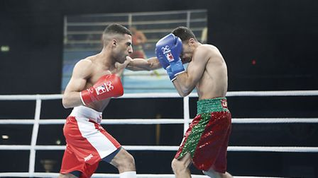 Galal Yafai in action for British Lionhearts (pic Stefan Johnson)