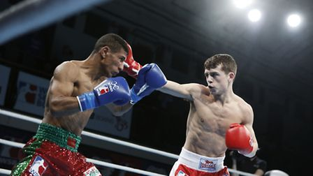 Peter McGrail in action for British Lionhearts (pic Stefan Johnson)