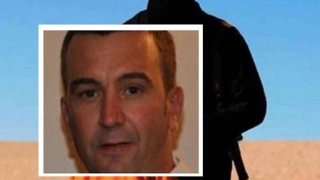 David Haines [inset] and the horrifying video as a hostage in Syria