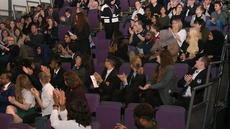 Young audience at Jack Petchey 'Speak Out' regional final contest