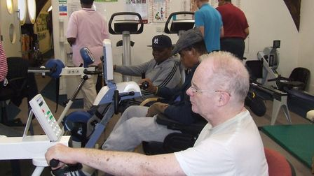 Getting to grips with theraputic physical exercise at Ability Bow gym
