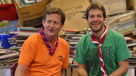 East London scouts appeal for books