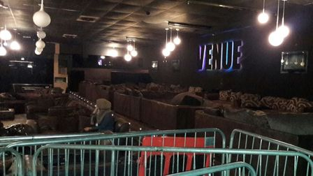 Venue in East India Dock Road put out of business. Picture: LBTH