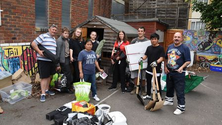 The community has come to the rescue after the scout hut was ransacked at the Cubitt Town Community