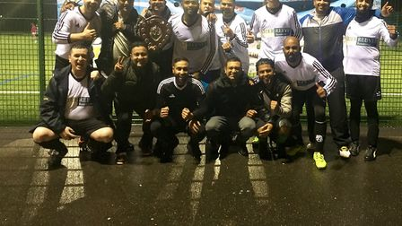 Weavers have been crowned the Veterans League Premier Division winter champions in the Inner London