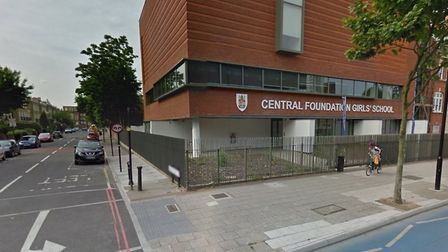 Central Foundation School on the busy A11 Bow Road. Picture: GOOGLE