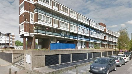 The attack happened near Dagmar Court in the Isle of Dogs. PICTURE: Google StreetView