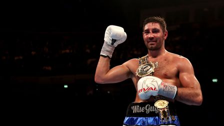 Frank Buglioni will defend his British light-heavyweight belt against Ricky Summers at The O2 (pic: