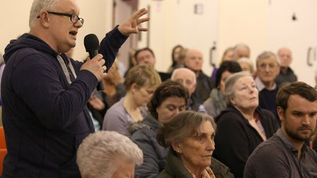 Night-time economy... public meeting on April 6 at St Hilda's community centre in Bethnal Green. Pic